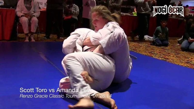 Amanda Leve vs Scott Toro Renzo Gracie Brazilian Jiu Jitsu Tournament Nogi Bear®