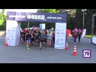 Участники ПМЭФ устроили утренний забег на Крестовском острове