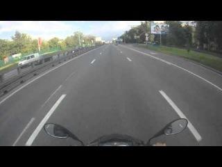 the city 300 km/h Збс обгон на мотоцикле по городу 300 км/ч