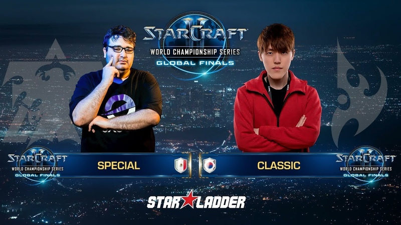 2018 WCS Global Finals Ro16, Group D, Decider Match: SpeCial (T) vs Classic (P)