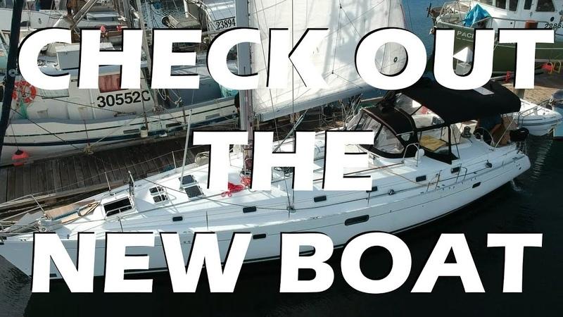 WE GOT A NEW BOAT! - Sailing vlog 55