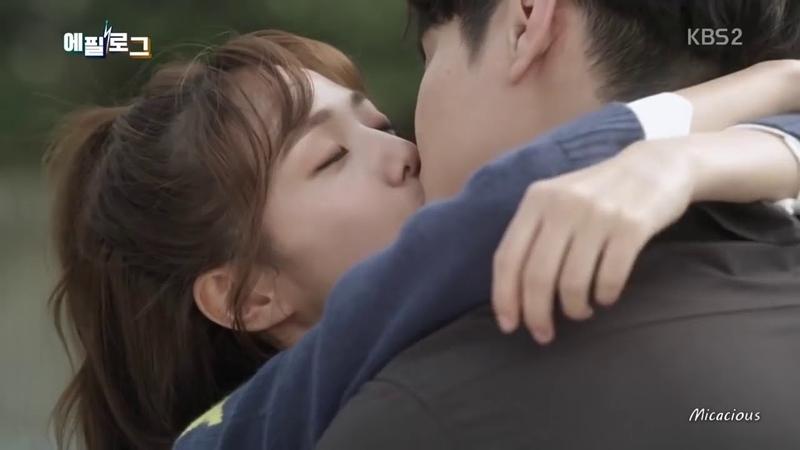 Поцелуи в дорамах 2