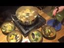 Приготовление супа Лау