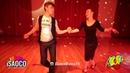 Boris Yakovenko and Yulia Fedorova Cha-cha-cha Dancing at KISF, Saturday 02.06.2018