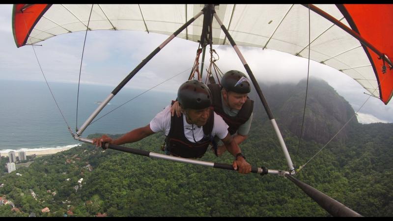 Полет на дельтаплане в Рио-Де-Жанейро 2018