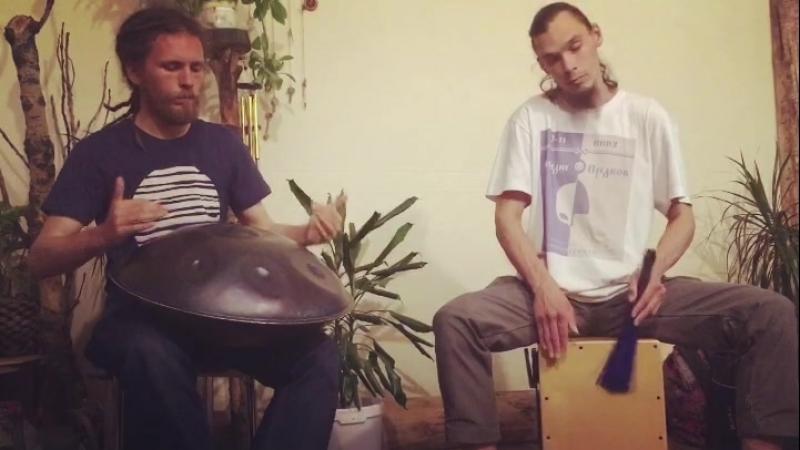 Паша Аеон, Андрей Мишенцев (Ханд Пан и Перкуссия)