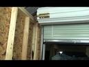 Как построить каркасный дом, инструкция Часть 5 Стальные подъемные двери