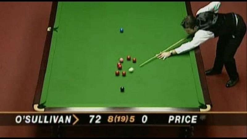 The fastest snooker 147 in the history - Ronnie O Sullivan