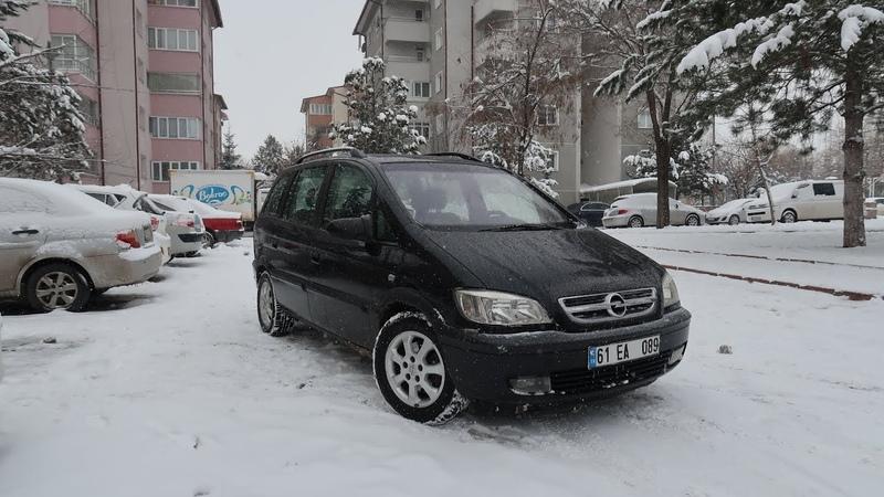 35.000 TLye 7 Kişilik Alman Opel ZAFİRA 2004 İnceleme Test | MPV
