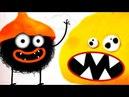 Chuchel - самая няшная, смешная мультик игра про Черного ЗВЕРЬКА ЧУЧЕЛ 1 смешное видео для детей