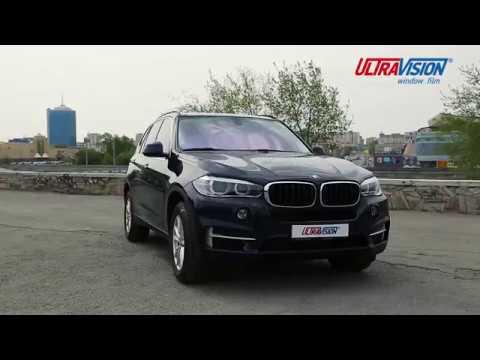 Тонировочные пленки UltraVision на BMW X5