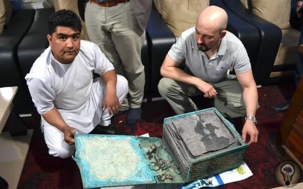 В Афганистане нашли древний христианский манускрипт на непонятном языке