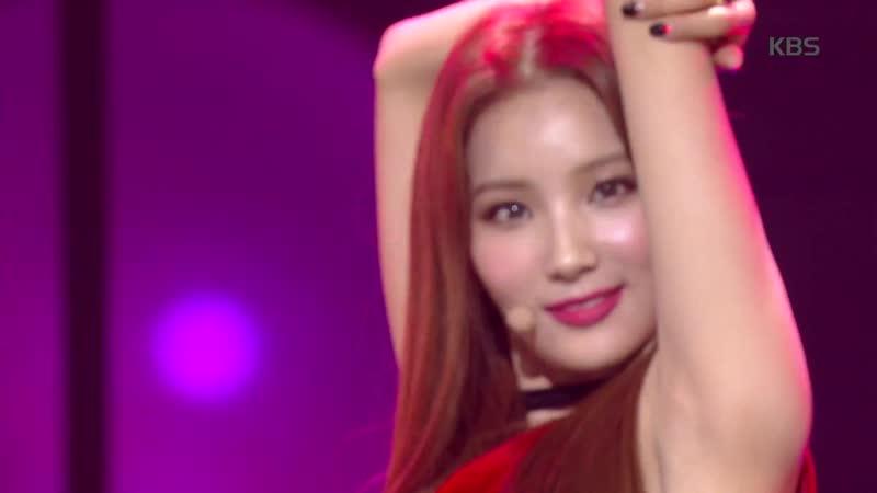 [Perf] 181102 Sohee (ELRIS) - Hurry up @ Music Bank