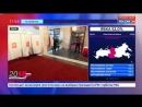 Россия 24 В Нью Йорке избирательный участок облитый краской взяли под круглосуточную охрану Россия 24