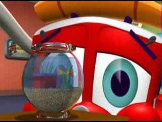 Финли Пожарная Машина  4с14с  Рыбка Финли. Мультфильмы для детей
