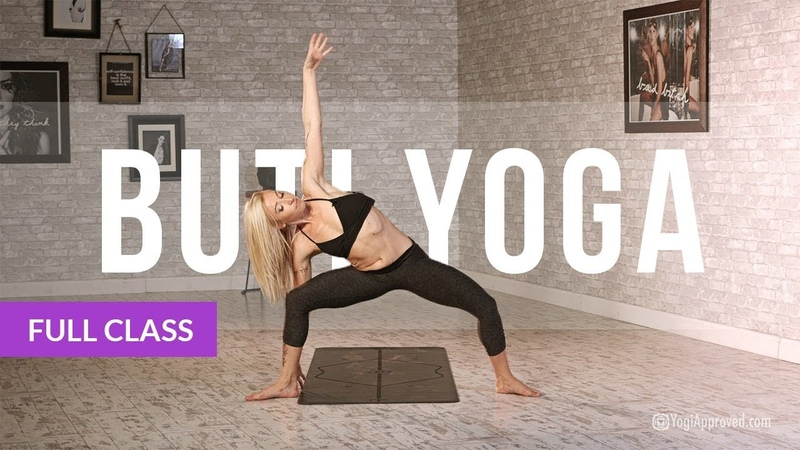 BUTI YOGA with Bizzie Gold - Abdominal Activation Spiral Structure Technique (Full Class)