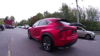 Оклейка Lexus в Матовый хром