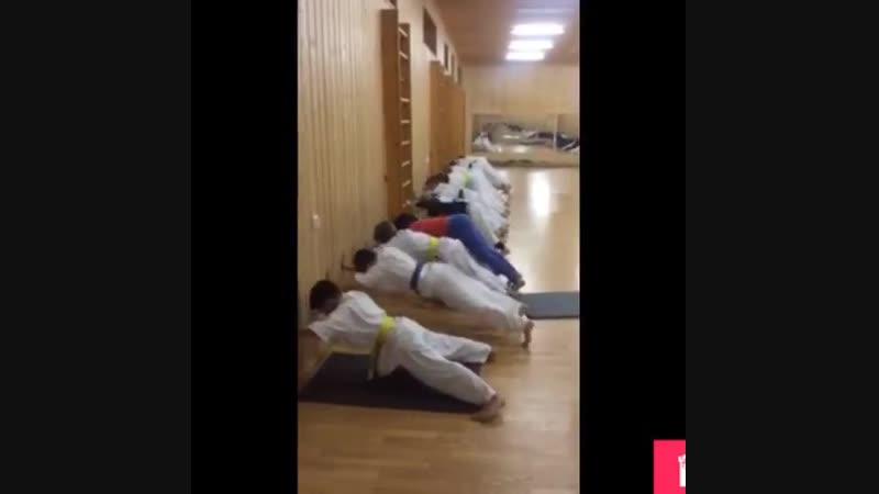 Взрыв стабилизация скорость в Кёкусинкай карате Подготовка бойца от сенсея Ильмова Евгения oyama mas