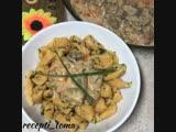 Морковные клецки с телятиной (ингредиенты в описании видео)