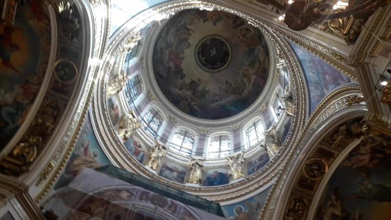 Наш Северный Пантеон, творение великого Монферрана, Исакиевский Собор, Санкт-Петербург.
