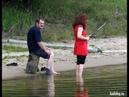 Приколы на рыбалке охота на рыбу русские рыбаки Fun fishing hunting fish Russian fishermen