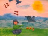 Мульт-открытка 23 февраля Аверин Леонид