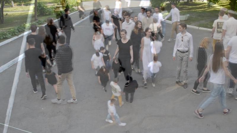 Видео группы поддержки команды Черное Белое