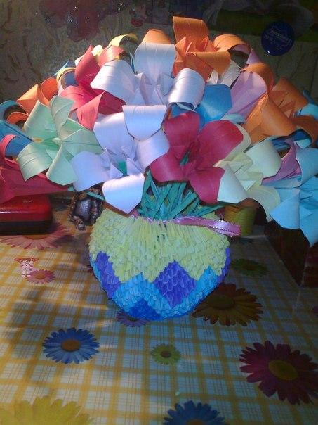 Модульное оригами . схемы :) в