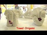 Folding Towels Art DIY How to Make Elephant Dog Swan &amp More from Towel Hotels Room Service Thailand