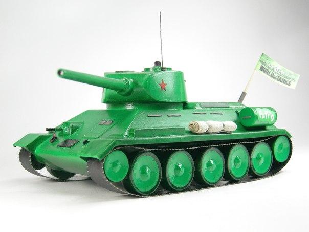 модель танка До этого,