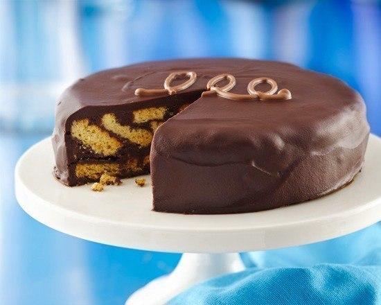 Торт из печенья какао