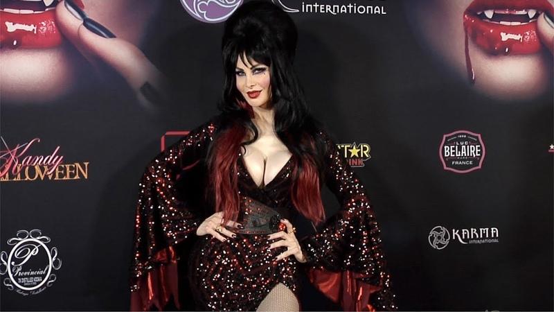 Cassandra Cass 2018 Kandy Halloween Party Red Carpet
