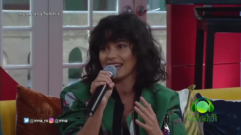 INNA на шоу Telehit (08.11.18 Мексика)