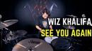Wiz Khalifa See You Again ft Charlie Puth Matt McGuire Drum Cover