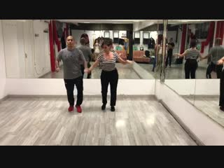 Clase de Salsa Intermedio by Guille Santa Cruz en Barcelona