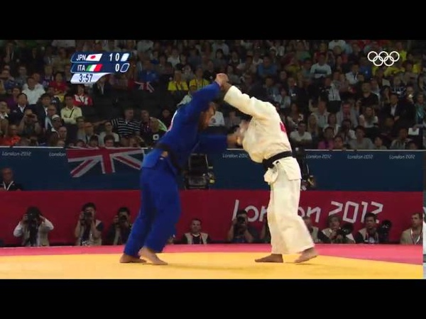 Дзюдо Лучшие иппоны на Олимпийских играх