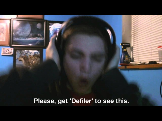 Defiler Walk In The Glow Vocal Cover
