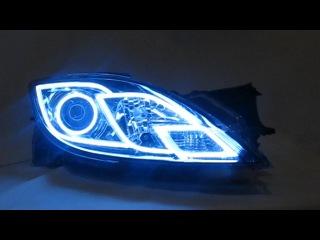 Неопознанный светящийся объект!!! - Mazda 6