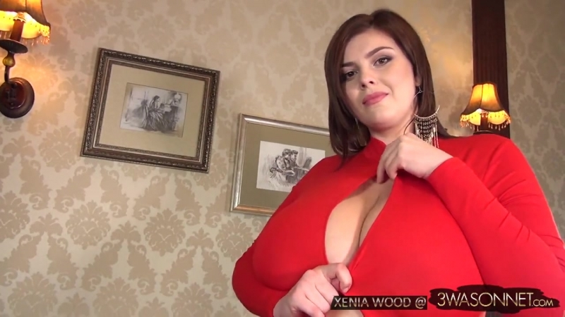 Xenia Wood - In Red