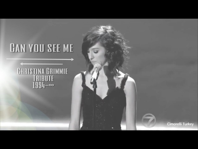 Christina Grimmie - Can You See Me