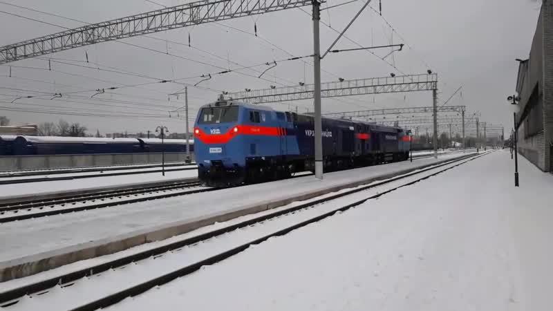 ТЭ33АС-2013, ТЭ33АС-2006 Україна, Полтавська область → станція Кременчук