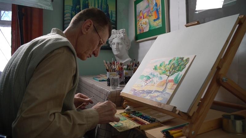 Энвер Изетов- художник улучшает мир