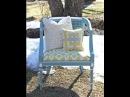 Как обновить кресло со спинкой