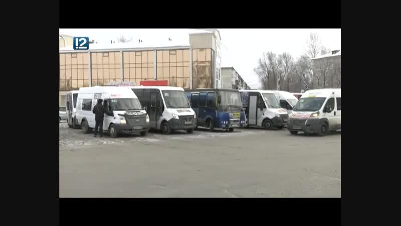 В Омске устроили облаву на маршрутки