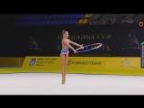 Анастасия Гузенкова - обруч (многоборье) // Международный турнир сениорок