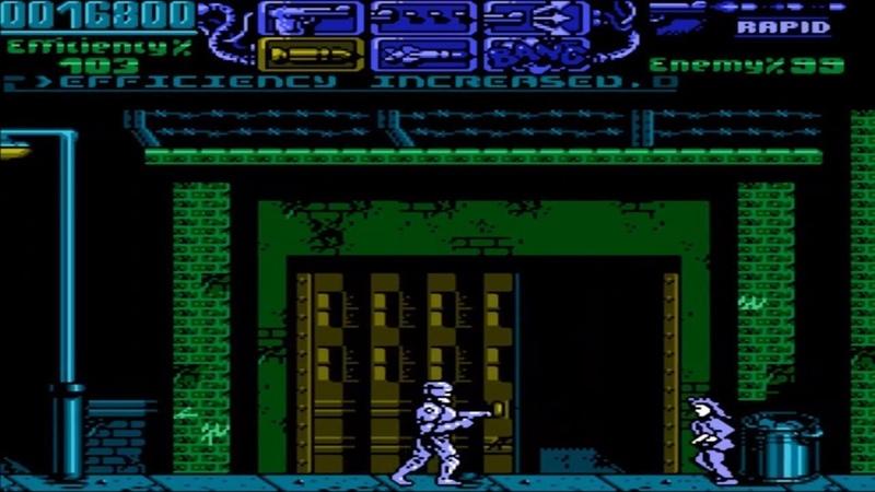RoboCop 3 NES Прохождение Робокоп 3 Денди Dendy Walkthrough