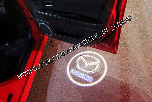лазерный логотип авто: