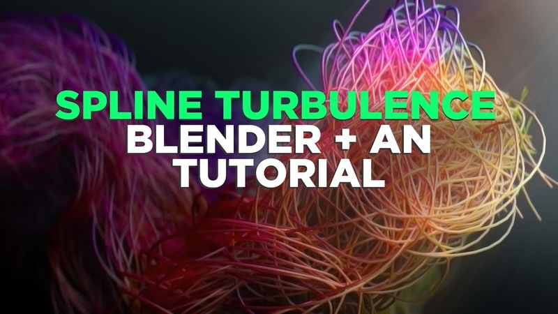 Animation Nodes Tutorial Cool Spline Turbulence with Some Super Simple Scripting