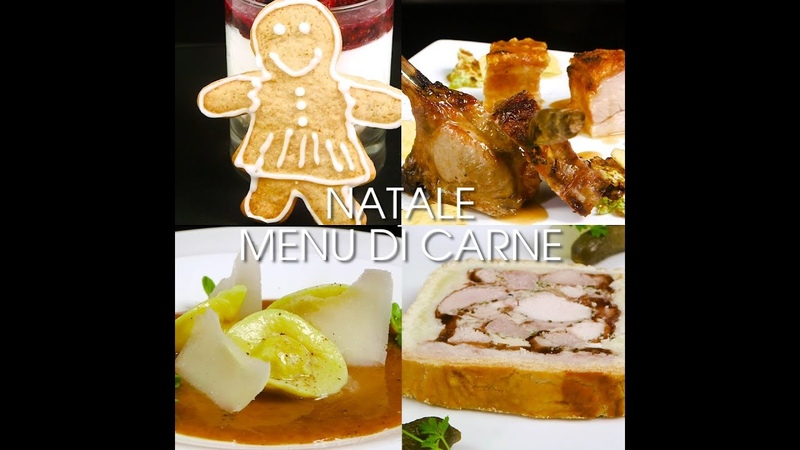 Natale: menu di carne
