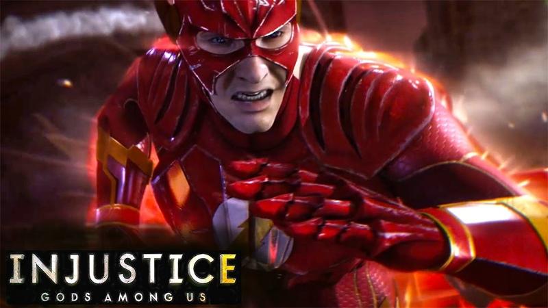 Injustice: Gods Among Us. Прохождение №18 Флэш мета-человек Flash Metahuman (Gameplay iOS/Android)